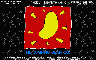 Noddy's Playtime atari screenshot