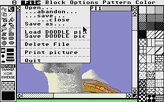 PaintPro atari screenshot