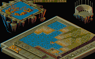 Populous II - Trials of the Olympian Gods atari screenshot