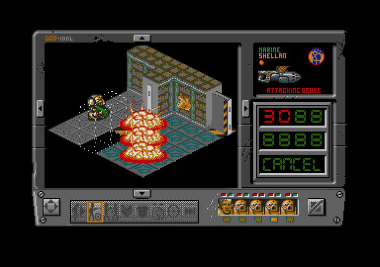 Space Crusade: The Voyage Beyond atari screenshot