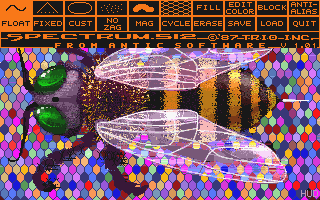 Spectrum 512 atari screenshot