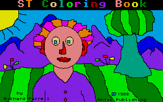 ST Coloring Book
