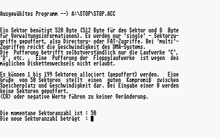 Stop der DatenTresor atari screenshot