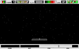 TrashHeap atari screenshot