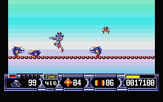 Turrican II - The Final Fight atari screenshot