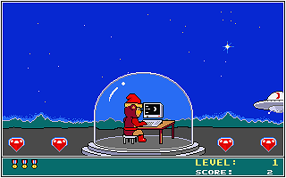 Typing Tutor atari screenshot