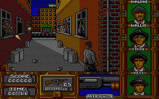 Untouchables (The) atari screenshot