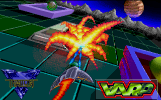 Warp atari screenshot